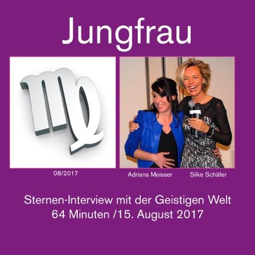das Sternen Interview Jungfrau 2017 von Silke Schäfer und Adriana Meisser